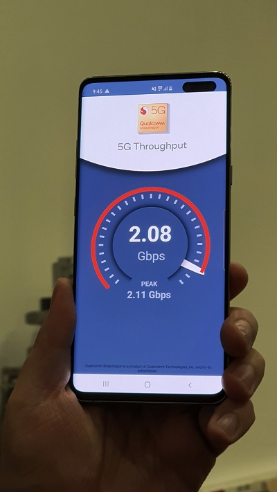 МТC, Nokia и Qualcomm провели первые в России тесты предкоммерческих смартфонов Samsung Galaxy S10 5G